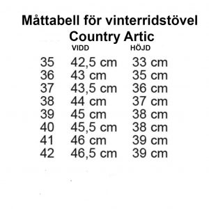Vinterstövel Country Arctic Svart HKM